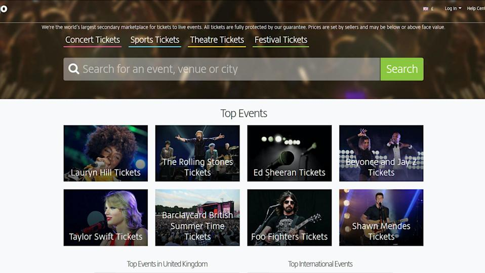 Viagogo Offers To Sell Stubhub Outside Us And Canada After 3 2bn Tie Up Blocked