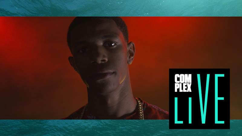 "Watch A Boogie Wit Da Hoodie Perform ""Drowning (Water)"" On ""Complex Live"""