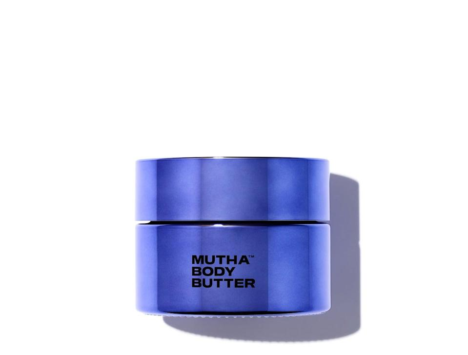 "<h3>Mutha Body Butter</h3> <br>Make the case for treating the skin below the neck just as well as you do the skin <em>above</em> the neck with a body butter made with mamas in mind.<br><br><strong>MUTHA</strong> Body Butter, $, available at <a href=""https://go.skimresources.com/?id=30283X879131&url=https%3A%2F%2Fvioletgrey.com%2Fproduct%2Fmutha-body-butter%2FMUT-BUTTER01"" rel=""nofollow noopener"" target=""_blank"" data-ylk=""slk:Violet Grey"" class=""link rapid-noclick-resp"">Violet Grey</a><br>"