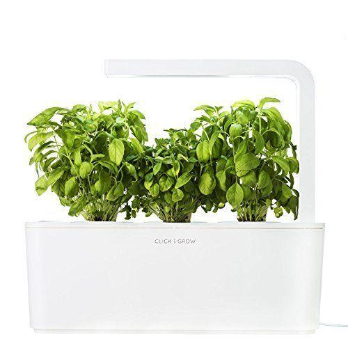 """This <a href=""""https://www.amazon.com/Click-Grow-Cartridges-Watering-Nano-Tech/dp/B00ZFXFXZ4/ref=sr_1_1_sspa?s=lawn-garden&ie=UTF8&qid=1510162730&sr=1-1-spons&keywords=grow%2Byour%2Bown%2Bherbs&refinements=p_36%3A2661614011&th=1"""" target=""""_blank"""">indoor herb garden</a> not only reduces cost overtime, but it will add freshness to every dish you make...ororder."""