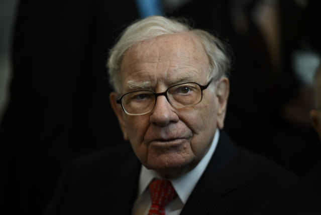 Warren Buffett, CEO de Berkshire Hathaway. (Foto: JOHANNES EISELE/AFP via Getty Images).