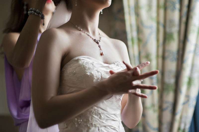 Bride anxious as cancelled wedding slammed online