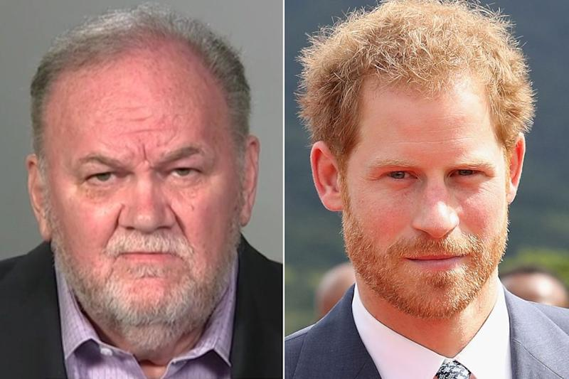 Thomas Markle and Prince Harry