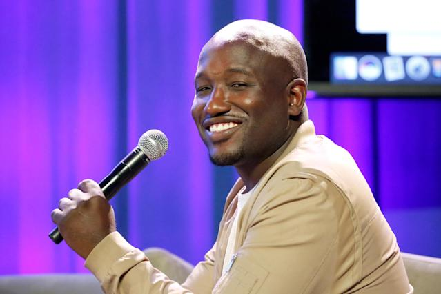 Hannibal Buress, pictured last year, mentioned Cosby's reputation for drugging and assaulting women during his comedy act in 2014. That led to the media questioning Cosby's behavior — and accusers coming forward. (Photo: FilmMagic/FilmMagic)