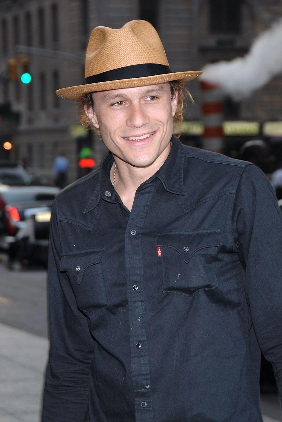 <p>Heath Ledger was hailed for his incredible performances in films like <em>Brokeback Mountain</em> and <em>The Patriot</em>. He took on the Joker in <em>The Dark Knight</em>, but tragically passed away before it was released. He was posthumously awarded the Academy Award for Best Supporting Actor for his performance.</p>