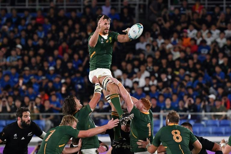South Africa's solid pack will give easier opponents a torrid time (AFP Photo/Toshifumi KITAMURA)