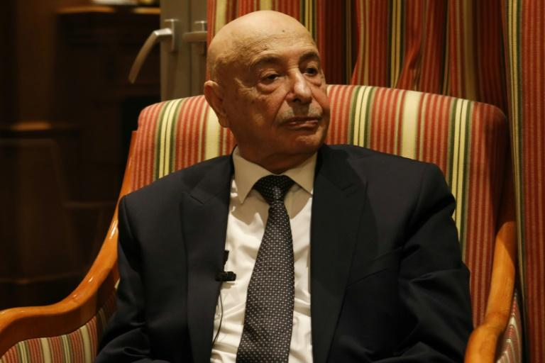 Libya's parliament speaker Aguila Saleh visited Cyprus at a time of rising tensions in the Mediterranean