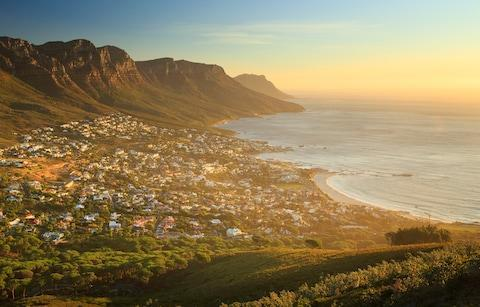 <span>Table Mountain, the Twelve Apostles and Camps Bay, Cape Town</span> <span>Credit: Getty </span>
