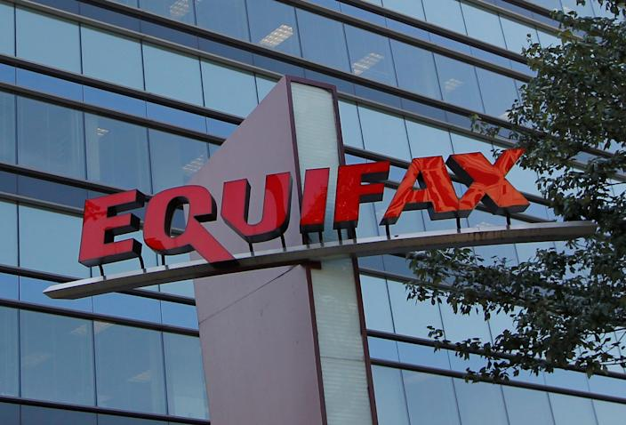 "Credit reporting company Equifax had a data breach in which 146.6 million people's data was exposed. Data breaches like this likely led to ""hundreds of millions"" in stolen unemployment benefits following coronavirus relief. REUTERS/Tami Chappell"