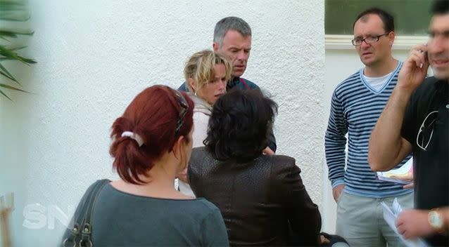 Kate McCann was visibly distressed after Madeleine was reported missing.