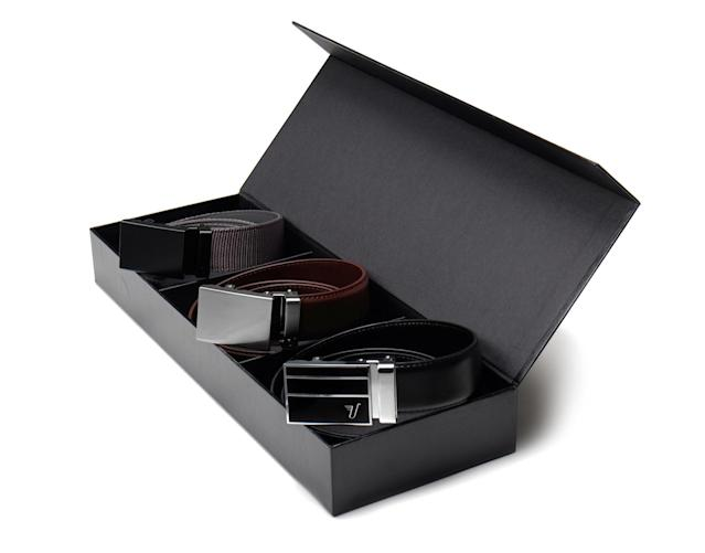 "<p>Belts are one of those items a lot of men just don't go out and buy for themselves and hence a perennial Father's Day gift. Mission belts come in a variety of good-looking styles, with no holes. And the brand donates a <a href=""https://missionbelt.com/pages/the-mission"" rel=""nofollow noopener"" target=""_blank"" data-ylk=""slk:portion of its sales"" class=""link rapid-noclick-resp"">portion of its sales</a> to fighting hunger and providing micro-loans to developing nations. From <a href=""https://missionbelt.com/"" rel=""nofollow noopener"" target=""_blank"" data-ylk=""slk:$35"" class=""link rapid-noclick-resp"">$35</a> (Courtesy Mission Belts) </p>"
