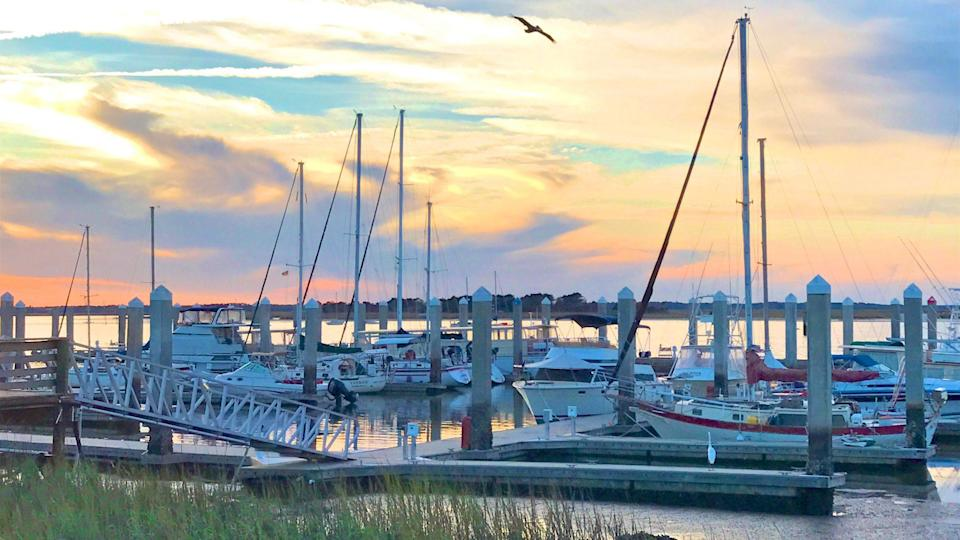 """<p>The birthplace of the modern shrimping industry, <a href=""""http://www.ameliaisland.com/Tour-Amelia-Island/Historic-District"""" rel=""""nofollow noopener"""" target=""""_blank"""" data-ylk=""""slk:Fernandina Beach"""" class=""""link rapid-noclick-resp"""">Fernandina Beach</a> is a waterfront village nestled on the north end of Amelia Island. Celebrating pirate culture is a way of life, so it's not uncommon to see people dressed as swashbucklers just for the heck of it. Visit during the <a href=""""http://www.shrimpfestival.com/"""" rel=""""nofollow noopener"""" target=""""_blank"""" data-ylk=""""slk:Isle of Eight Flags Shrimp Festival,"""" class=""""link rapid-noclick-resp"""">Isle of Eight Flags Shrimp Festival,</a> when the historic district bustles with parades, live music, lots of shrimp, and—you guessed it—pirates.</p>"""
