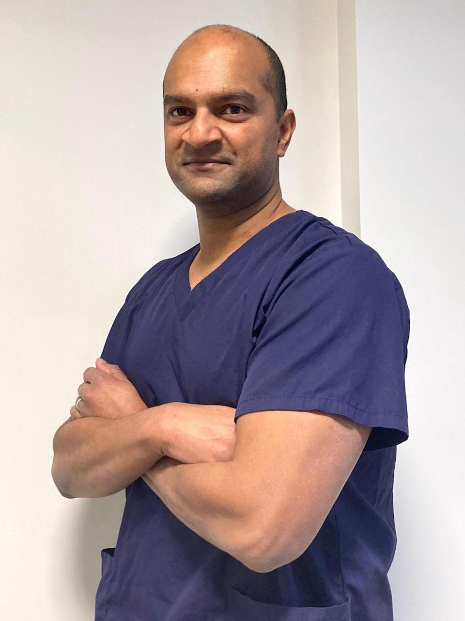 Dr Zudin Puthucheary from the Intensive Care Society