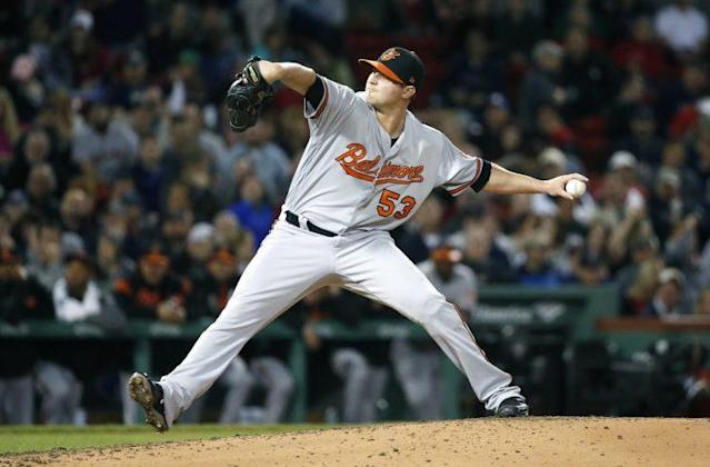 The Orioles may be without Zach Britton for a few weeks. (AP)