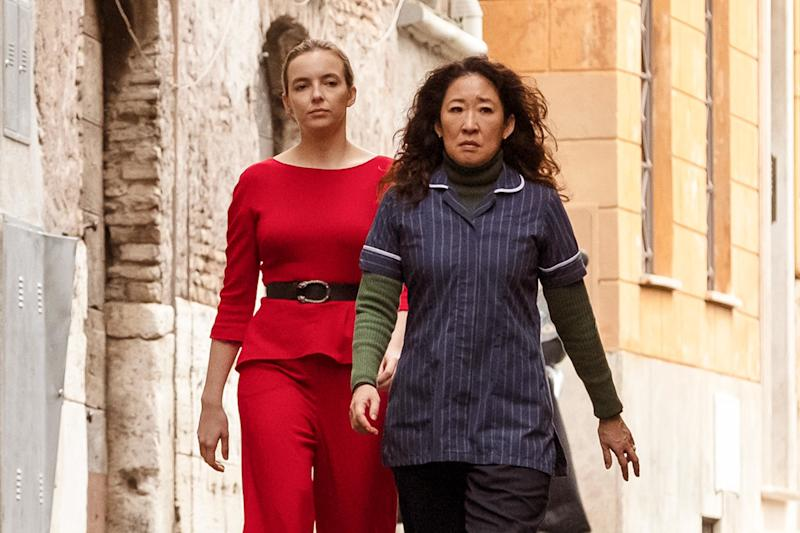Killing Eve finale: Sandra Oh breaks down Eve and Villanelle's shocking final moment