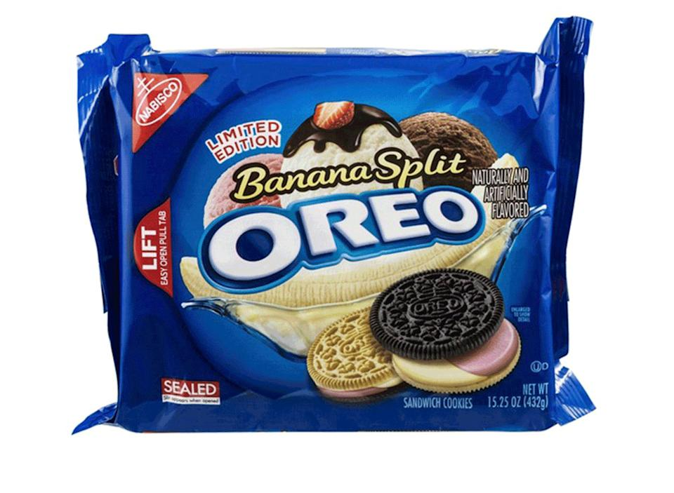 banana split oreo pack limited edition