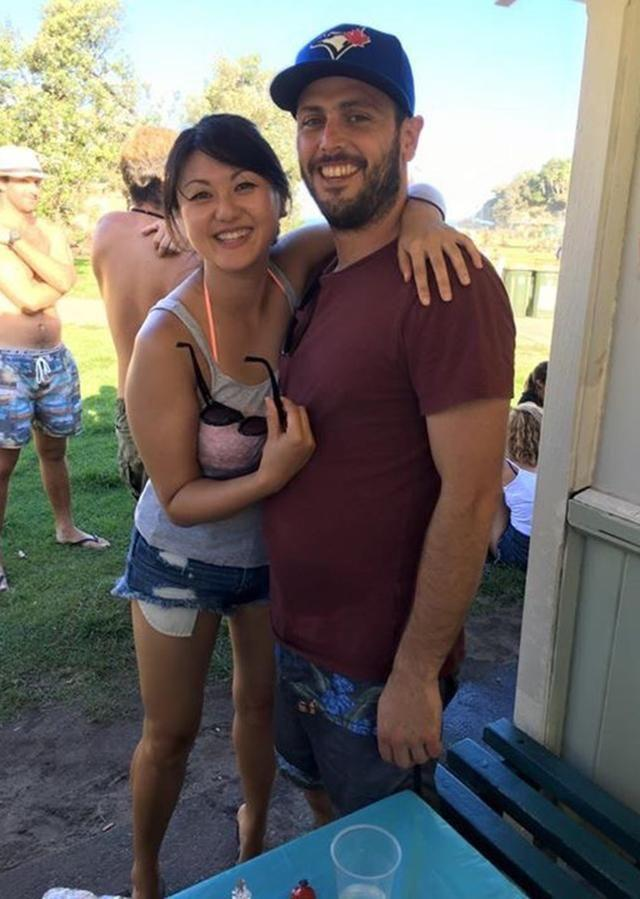 Iona was worried about being alone until she signed up for a dating app and met Christian. Photo: Supplied