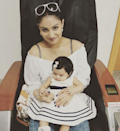 <p>Isn't that one hell of a cute name? What a unique way of spelling Rihanna though! Daughters comes as blessings, and so did little Reanna in Dimply Ganguly's life. After a whirlwind of a marriage that ended in a divorce, the reality star found love in husband Rohit Roy and together they were blessed with this li'l munchkin in June 2016. Nothing is more precious than a little prince this pretty. </p>