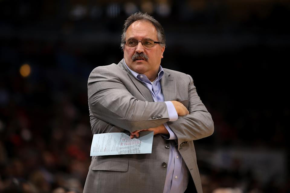 Stan Van Gundy will reportedly be the New Orleans Pelicans' next head coach. (Dylan Buell/Getty Images)