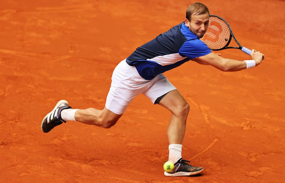<p>Dan Evans is relishing the competition on the clay at Roland Garros</p> (Getty Images)