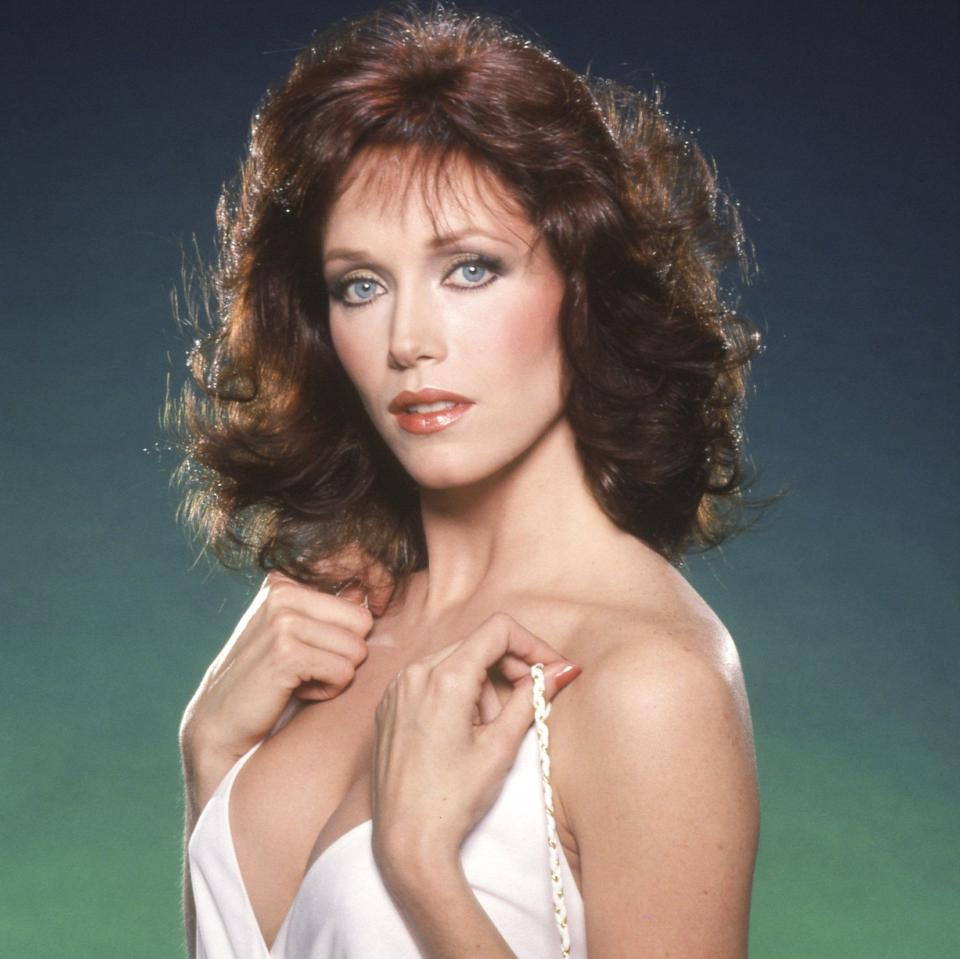 Tanya Roberts in 1980 - Getty