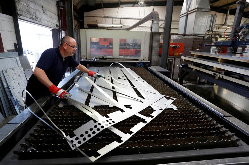 UK manufacturing output slides at fastest rate since 2012 - PMI