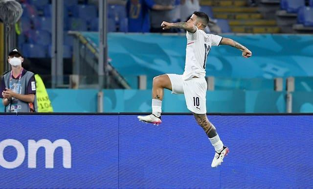 Lorenzo Insigne wrapped up Italy's 3-0 win over Turkey in their opening match
