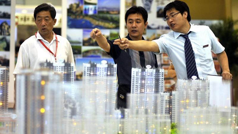 Property, consumer firms help China shares recover; Hong Kong also up