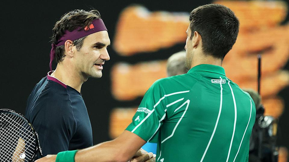 Like most players, Novak Djokovic is rarely the crowd favourite when he plays Roger Federer.