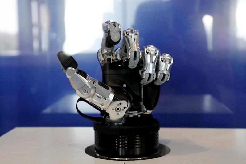 The world has changed since sci-fi author Asimov in 1942 wrote his three rules for robots (AFP Photo/FRANCOIS GUILLOT)