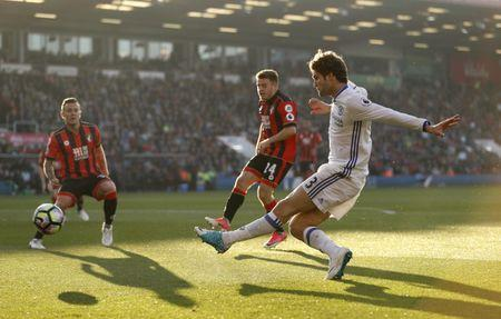 Britain Football Soccer - AFC Bournemouth v Chelsea - Premier League - Vitality Stadium - 8/4/17 Chelsea's Marcos Alonso in action Action Images via Reuters / John Sibley Livepic
