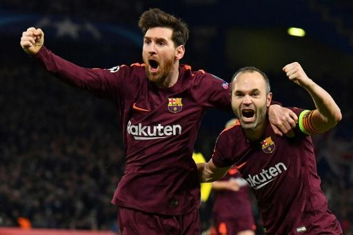 Messi's first goal against Chelsea snatched Barcelona a crucial away goal and a 1-1 draw