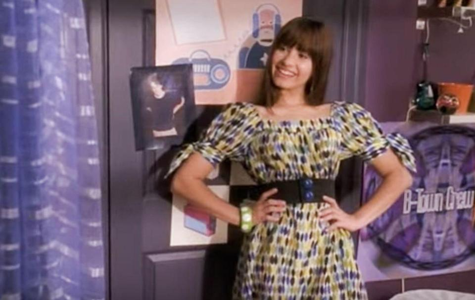 <p>Five years later, Demi Lovato snagged her first movie role in Disney's take on a summer musical, <em>Camp Rock</em>.</p>