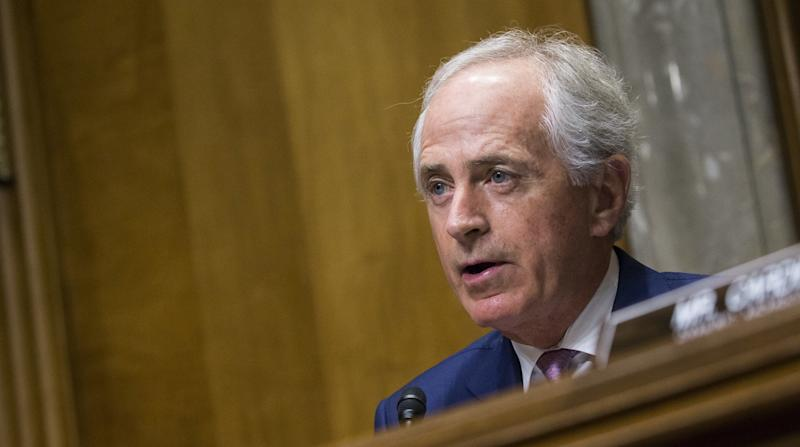 Sen. Bob Corker (R-Tenn.) won't run in 2018.