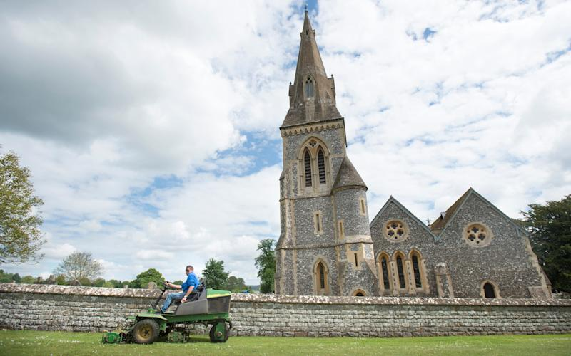 St Marks Church in Englefield where Pippa Middleton will tie the knot. - Credit:  David Rose