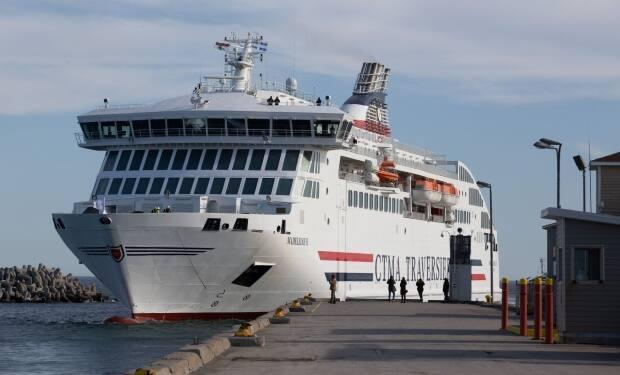 The ferry has 30 bedrooms available to rent for passengers on the 4.5-hour trip.