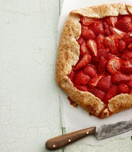 """<p>If you're too impatient to deal with pie crust, rustic galette dough is a dream come true. </p><p><em><a href=""""https://www.goodhousekeeping.com/food-recipes/a14529/rustic-strawberry-galette-recipe-clv0513/"""" rel=""""nofollow noopener"""" target=""""_blank"""" data-ylk=""""slk:Get the recipe for Rustic Strawberry Galette »"""" class=""""link rapid-noclick-resp"""">Get the recipe for Rustic Strawberry Galette » </a></em></p>"""