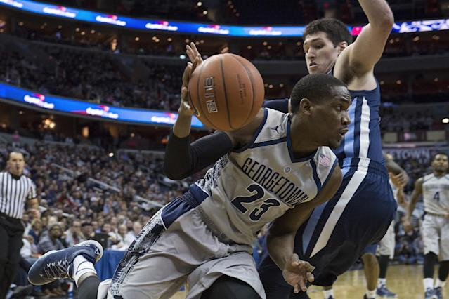 Georgetown proves it can contend for Big East by humbling Villanova