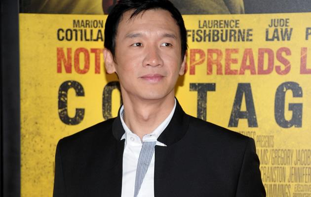 Singaporean actor Chin Han at the premiere of Contagion (Getty Images)