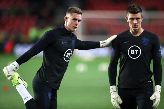 Dean Henderson has yet to make his senior England debut (Nick Potts/PA)