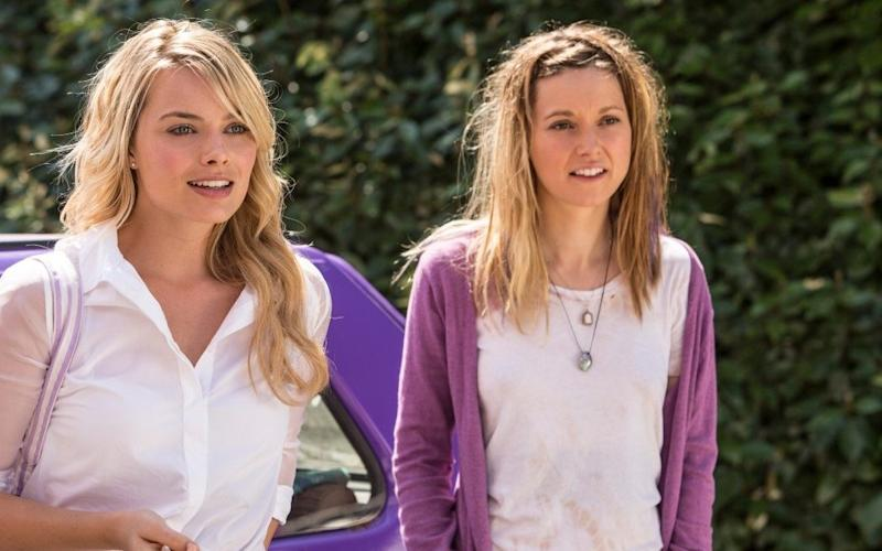 Bad hair: Margot Robbie and Lydia Wilson in About Time - Credit: Universal