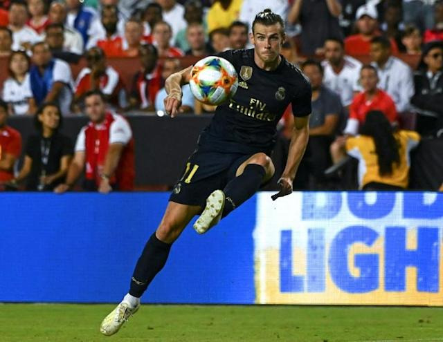 Zidane is keen to offload Gareth Bale but the Welshman appears to be staying at Real Madrid (AFP Photo/ANDREW CABALLERO-REYNOLDS)