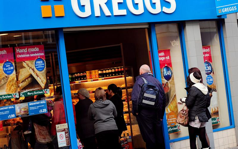 File photo dated 24/11/10 of a Greggs shop - Credit:  Rui Vieira/PA