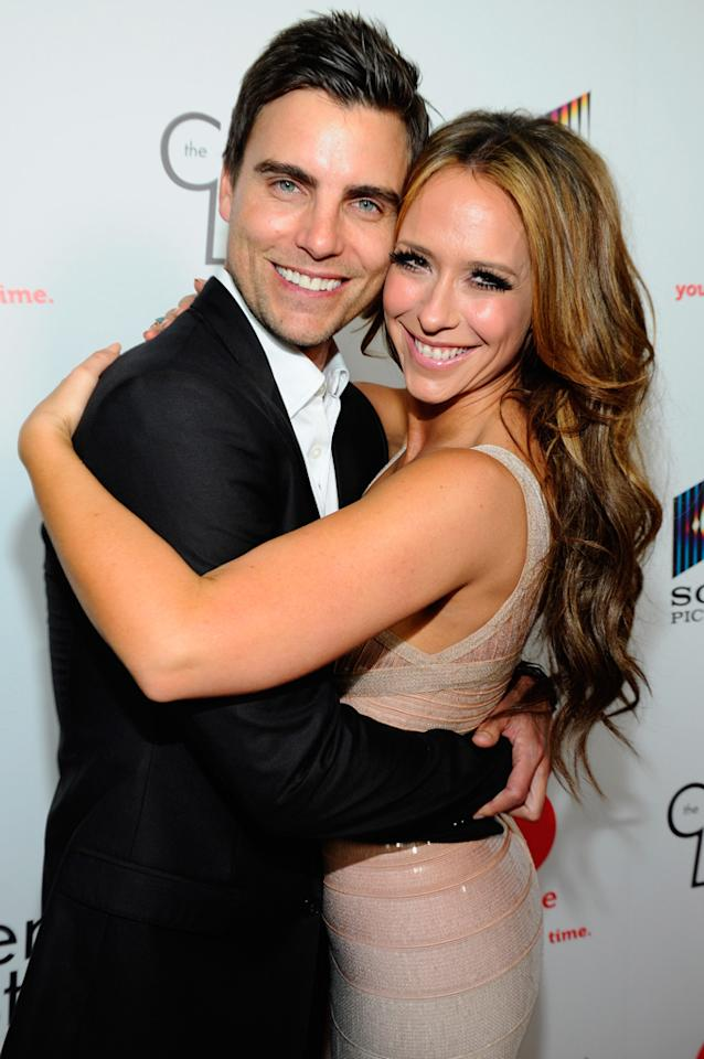 """Colin Egglesfield and Jennifer Love Hewitt attend the launch party for Lifetime's """"<a href=""""http://tv.yahoo.com/client-list/show/47678"""">The Client List</a>"""" at Sunset Tower on April 4, 2012 in West Hollywood, California."""