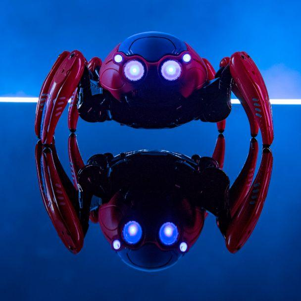 PHOTO: At Avengers Campus, recruits can build and battle their own Spider-Bots. Tactical upgrades are available to customize each Spider-Bot to a look inspired Black Panther, Iron Man, Black Widow, Ant-Man and The Wasp. (David Roark/Disneyland Resort)