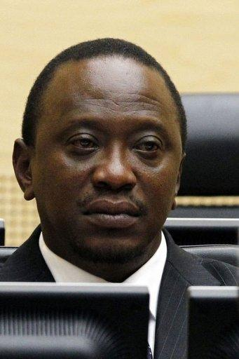 Kenyan Deputy Prime Minister Uhuru Kenyatta at the International Criminal Court in The Hague, on April 8, 2011. Kenyatta is among five officials the International Criminal Court has ruled should face trial over deadly post-election violence four years ago