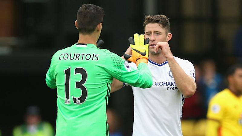 Cahill Courtois Chelsea