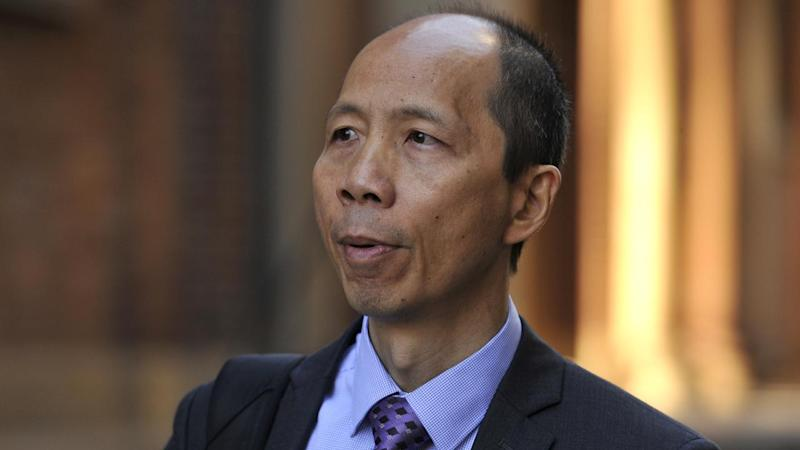 Robert Xie has been found guilty of murdering five of his wife's relatives in their Sydney home.