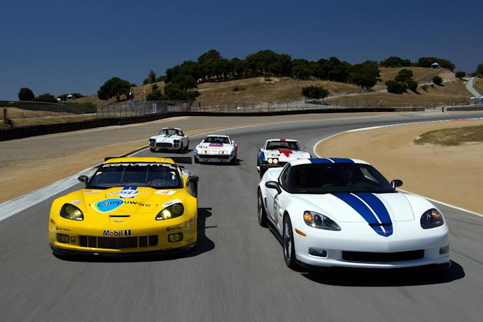 2010 Corvette Racing Le Mans 50th Anniversary.
