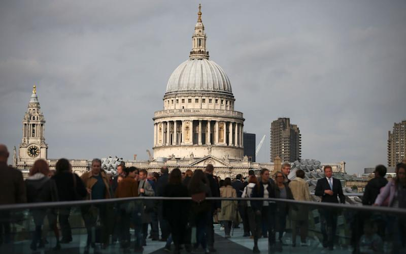 The event has been held on Ash Wednesday at St Paul's for 400 years - AFP